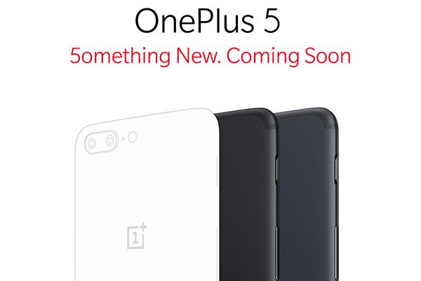 OnePlus 5 teaser 5omething new