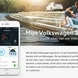 connected-car Mijn Volkswagen app