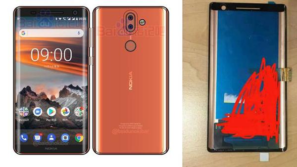 Nokia 9 schets en scherm