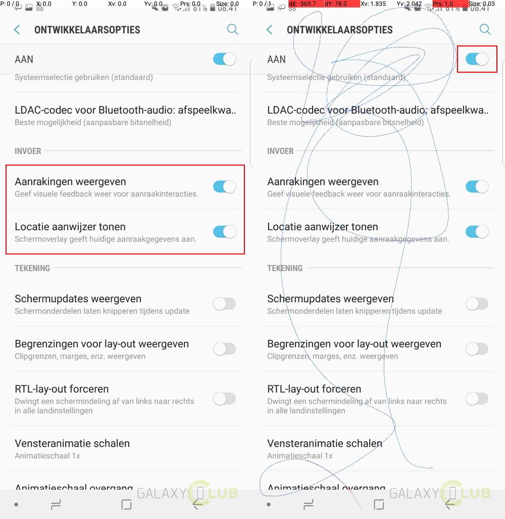 Samsung-galaxy-s9-scherm-test