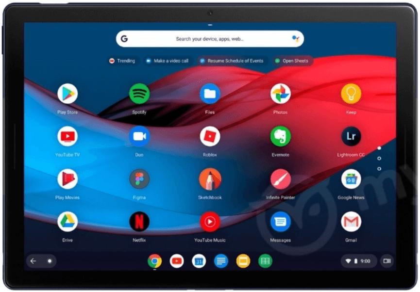 Google-Pixel-Slate-tablet