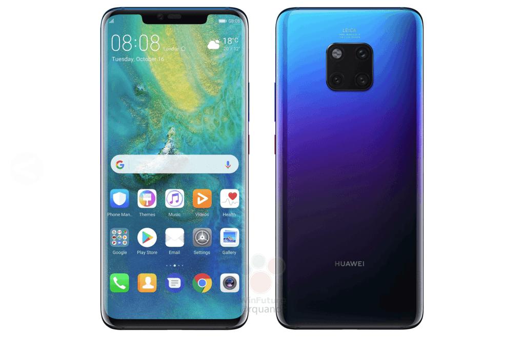 Huawei Mate 20 Pro Gaat 1000 Euro Kosten - Androidics.nl
