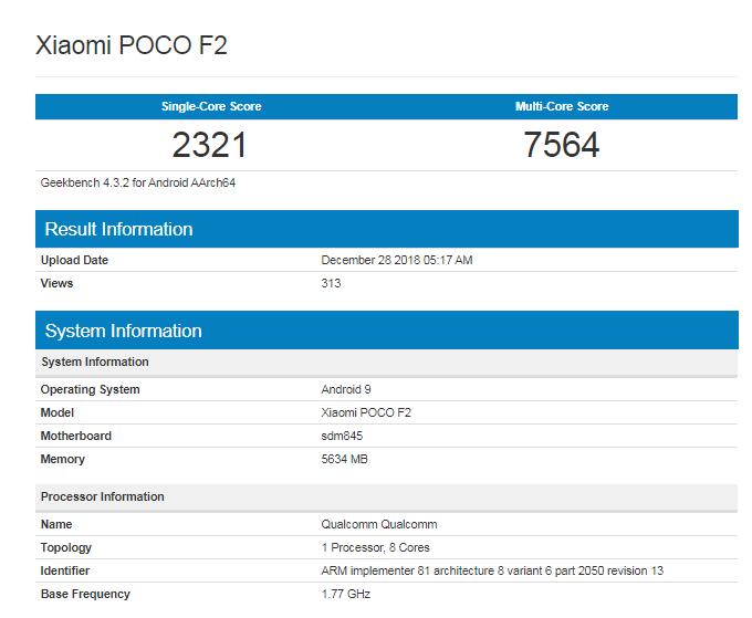 Pocophone_F2_benchmark-Geekbench