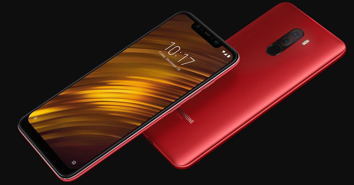 Xiaomi-Pocophone-F1-rood