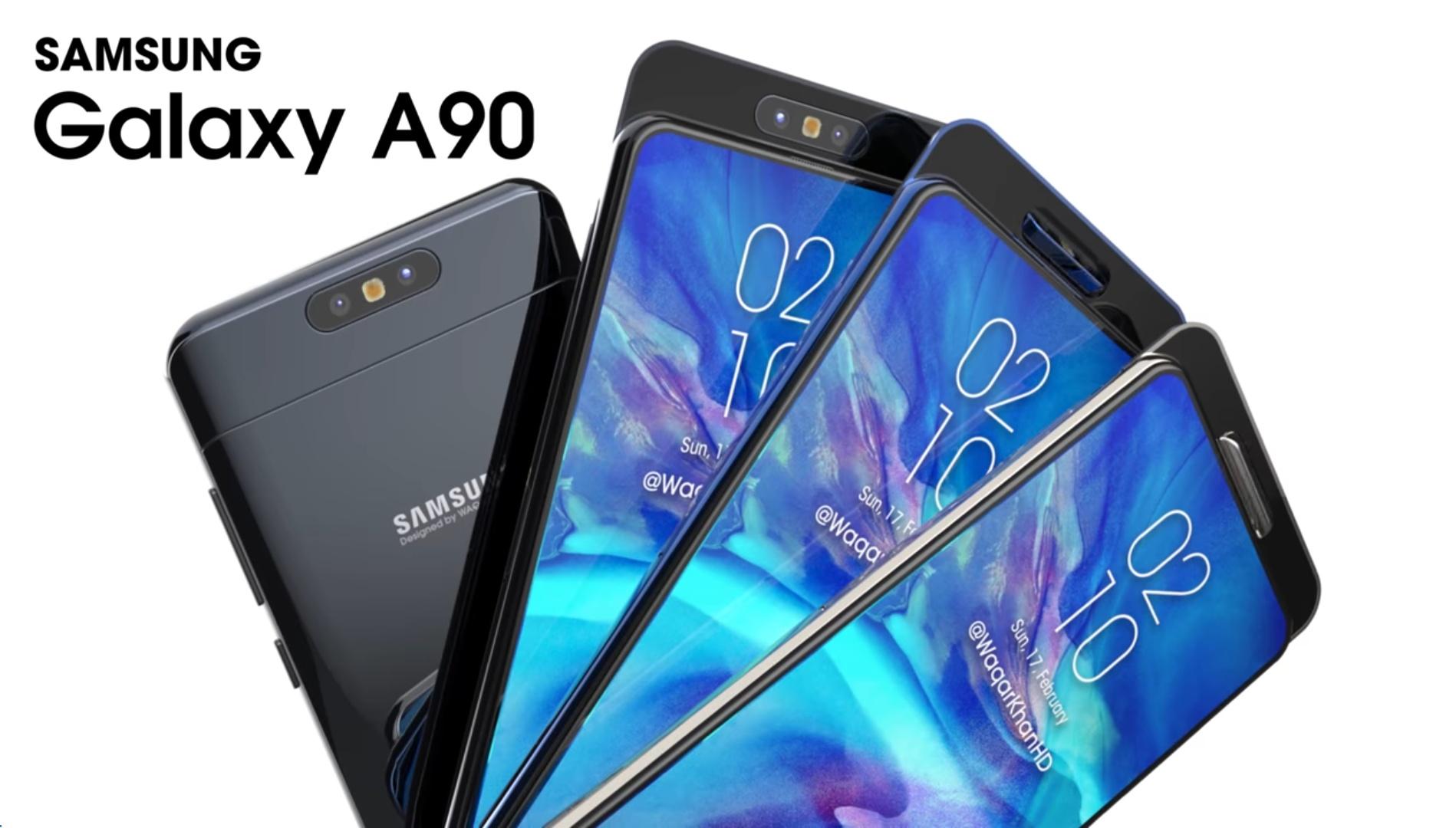 Samsung Galaxy A90 Wallpapers: Specificaties Samsung Galaxy A90 Gelekt