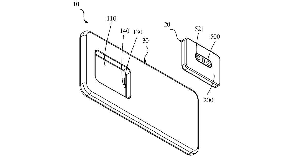 Oppo_patent_uitneembare_camera